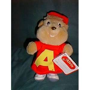 Alvin the Chipmunk 7 Plush Doll from Burger King in 1987