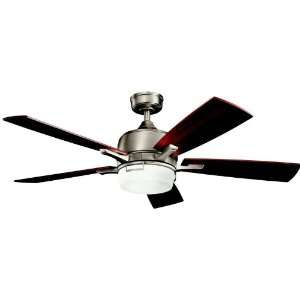 Antique Pewter Energy Star 52 Ceiling Fan with Light & Remote Control