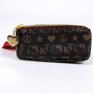 Hello Kitty Faux Leather Coin Purse Wallet Black Toys & Games