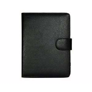 Black color PU Leather Case/Cover for  Kindle Touch ebook reader