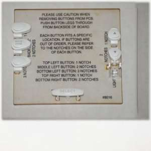 Jandy OneTouch Control Panel Series Replacement Parts