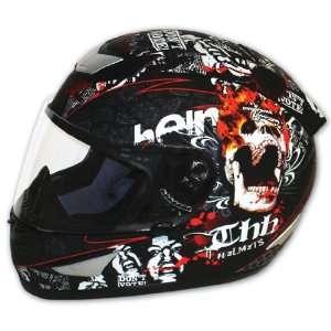 THH TS 41 Street Bike Full Face Cruiser Motorcycle Helmet