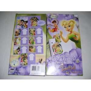 24 Disney Fairies Tinker Bell Valentines Day Cards With 24