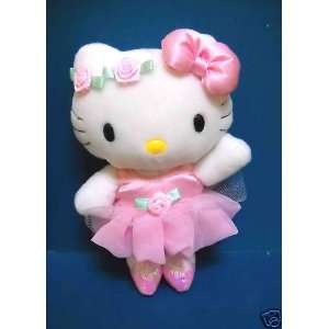 Hello Kitty Pink Ballerina Plush Doll (7) Toys & Games
