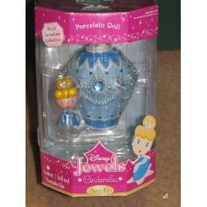 Brass Key Disney Jewels Cinderella Porcelain Doll Toys & Games