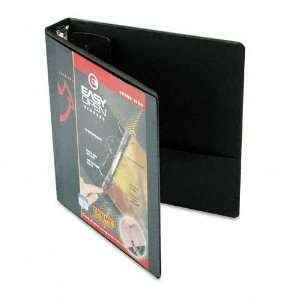 ClearVue Locking Round Ring Binder, 1 1/2 Capacity, Black   Sold As 1