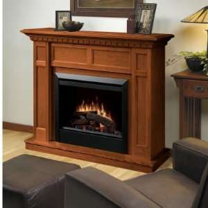 Dimplex Caprice Oak Electric Fireplace  Home & Kitchen