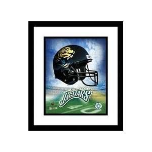 NFL Team Logo and Football Helmet Collage Framed 8 x 10 Photograph