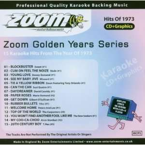 Karaoke CD+G   Golden Years 1973   15 Karaoke Hits Zoom Karaoke