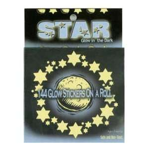 144 Glow In The Dark Stars & Moons On A Roll Toys & Games