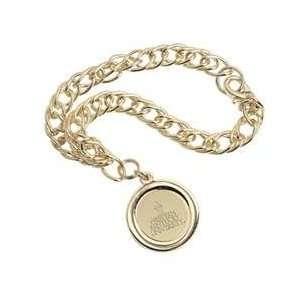 Western Kentucky   Charm Bracelet   Gold