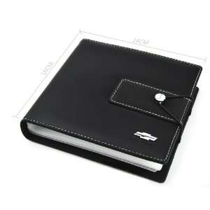 Cool2day Car Chevrolet LOGO CD Storage leather Holder DVD