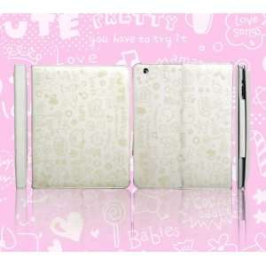 Smart Cover Shell PU Leather Case Sleep Wake for Apple iPad 2 iPad2