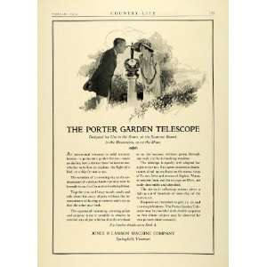 1924 Ad Jones Lamson Machine Porter Garden Ornamental