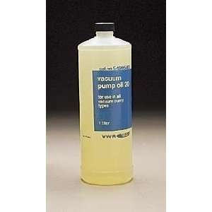 VWR Vacuum Pump Oil No. 20 400505 5GL