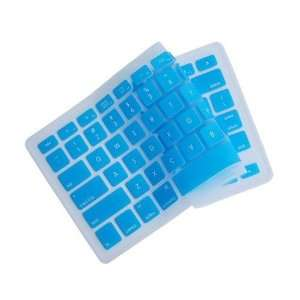 KNOPA AQUA BLUE Keyboard Cover Silicone Skin for New Apple MacBook