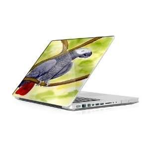 African Grey   Macbook Pro 15 MBP15 Laptop Skin Decal