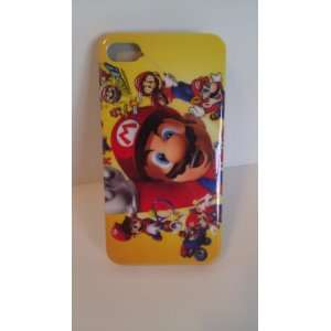 Super Mario   Hard Case for Iphone 4 4G & 4S + Free Screen