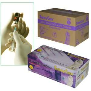 Sunnycare #6603 Latex Medical Exam Gloves Powder Free Size