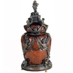 Meyda Tiffany 21336 Castle Cherub   One Light Accent Lamp