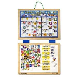 Magnetic Monthly Calendar by Melissa & Doug Toys & Games