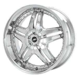 American Racing Burn AR637 Chrome Wheel (24x10/6x127mm) Automotive