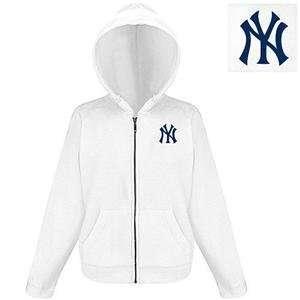 New York Yankees MLB Hoody Womens Hooded Sweatshirt by Antigua