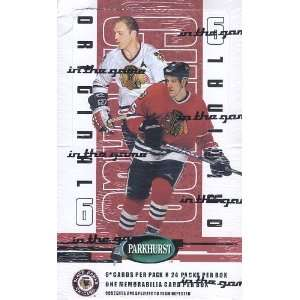 2003 04 Parkhurst Original 6 Hockey Trading Card Box   CHICAGO
