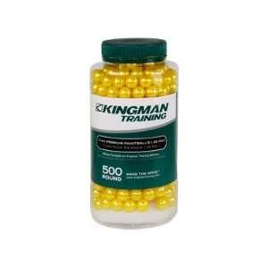 Training 11mm Premium Paintballs, 500 Rds, Yellow