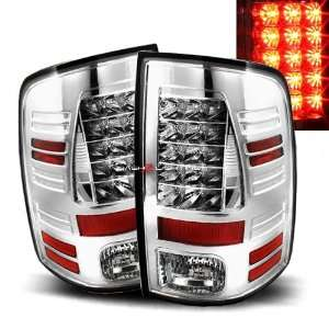 09 10 Dodge Ram 1500 LED Tail Lights   Chrome Automotive