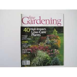 . Gardens. Flowers. Plants. Low Care Plants.) Virginia Small Books