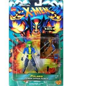 X men Polaris Action Figure Power Upper Punch Toys