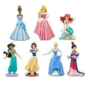 Disney Princess Figurine Set  Toys & Games