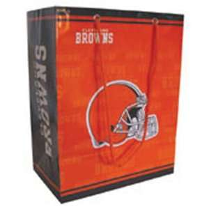 Cleveland Browns NFL Medium Gift Bag (9.75 Tall) Sports