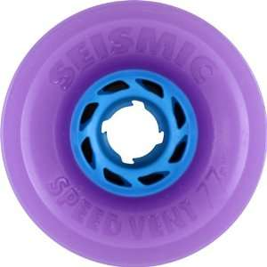 Vent 77mm 83a Tran Purple/Blue Wheels (Set Of 4) Sports & Outdoors