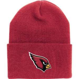 Arizona Cardinals Red Cuffed Knit Hat