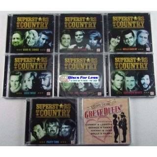 Time Life Superstars of Country 16 Cd Super Set