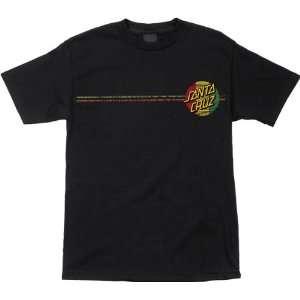 Santa Cruz Rasta Haka Skateboard T Shirt [Large] Black