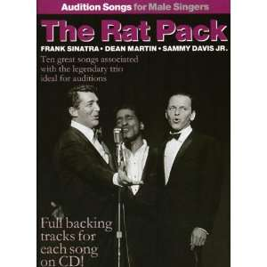 The  Rat Pack   Audition Songs Fro Male Singers (Book & CD