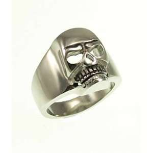 Kala isjewels   Mens Skull Stainless Steel Ring   Size11 Jewelry