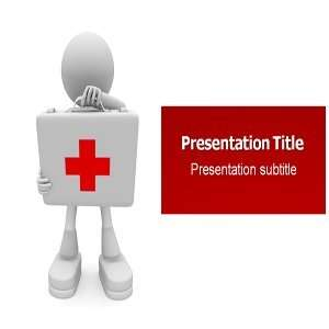 Powerpoint Template   First Aid Powerpoint Background Slides Software