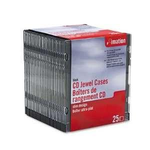 imation CD/DVD Slim Line Jewel Cases IMN41017 Electronics