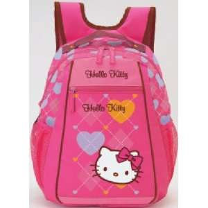 Hello Kitty Small Backpack   Argyle Toys & Games