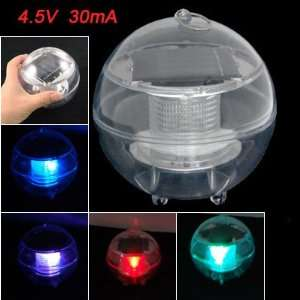 Shaped Color Changing Solar Energy LED Night Light