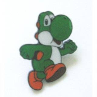 Nintendo Super Mario Green Yoshi Metal Pin Badge ~ Wii~