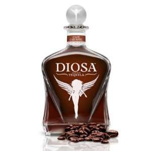 Diosa Cafe Caramel Tequila 750ml Grocery & Gourmet Food