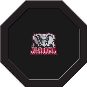 Alabama Crimson Tide Game Table Felt   43 Round Sports