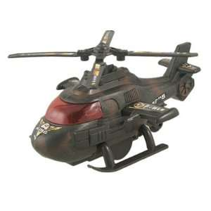 Camouflage Plastic Wind Up Army Helicopter Aircraft Toy Toys & Games