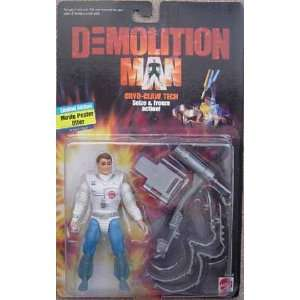 Cryo Claw Tech from Demolition Man Action Figure Toys & Games