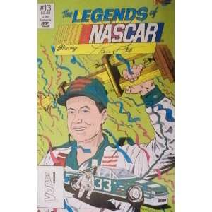 Harry Gant The Legends of NASCAR #13 Comic Book Sports & Outdoors